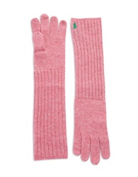 Polo Ralph Lauren Long Shetland Wool Gloves Candy Pink