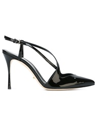 Sergio Rossi Stiletto Sandals Black