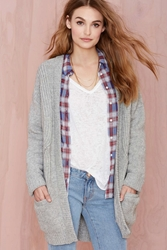 Nasty Gal Just Female Play It Cool Cardigan