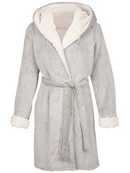 Fat Face Frosted Dressing Gown Mocha