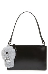 Opening Ceremony Leather Zip Clutch
