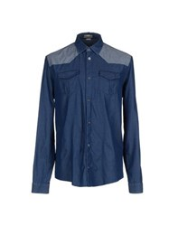 Balenciaga Denim Denim Shirts Men