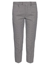 Undercover Hound's Tooth Print Tailored Trousers