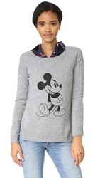 David Lerner Disney Collection By Sweater Heather Grey