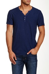 Rogue Solid Henley Blue