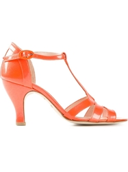 Repetto 'Beth' Sandals Yellow And Orange