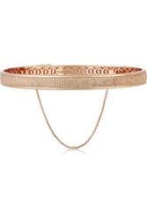 Eddie Borgo Pave Safety Chain Rose Gold Plated Cubic Zirconia Choker