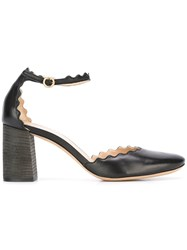 Chloe 'Lauren' Maryjane Pumps Black