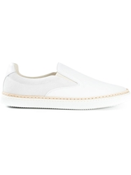 Maison Martin Margiela Slip On Sneakers White