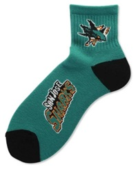 For Bare Feet San Jose Sharks Ankle Socks Team Color