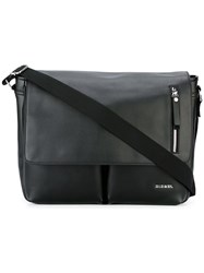 Diesel Classic Messenger Bag Black