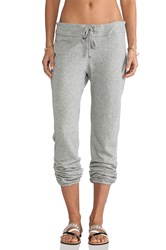 James Perse Vintage Cotton Genie Sweat Pant Gray