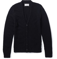 Maison Martin Margiela Maion Ditreed Wool Cardigan Navy