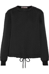 See By Chloe Quilted Shell Sweatshirt Black