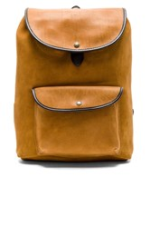 Filson Rugged Suede Backpack Cognac
