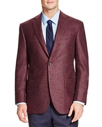 Jack Victor Loro Piana Double Face Classic Fit Sport Coat Burgundy