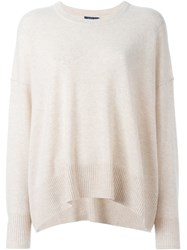 Polo Ralph Lauren Flared Pullover Nude And Neutrals