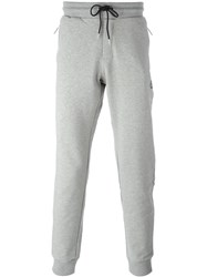 Bikkembergs Gathered Ankle Track Pants Grey