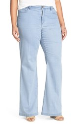 Nydj Plus Size Women's 'Claire' Stretch Trouser Jeans Coral Springs