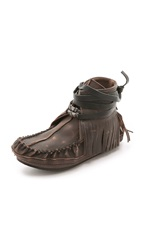 Free People Eastwood Moccasins Chocolate