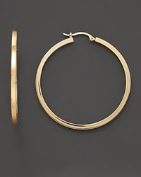 Bloomingdale's 14K Gold Extra Large Hoop Earrings No Color