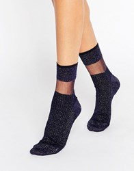 Jonathan Aston Fame Sock Midnight Blue