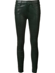 Frame Denim 'Le Skinny De Jeanne' Trousers Green