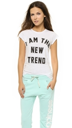 Happiness I Am The New Trend Tee White