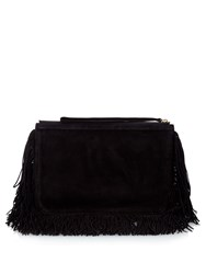 Pierre Hardy Fringed Suede Pouch