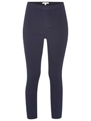 White Stuff Jade Capri Stitch Jeggings Dark Denim