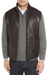Remy Leather Men's Reversible Lambskin Vest