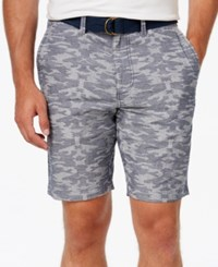 American Rag Men's Southwest Chambray Shorts Only At Macy's Blue