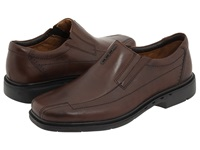 Clarks Un.Sheridan Brown Leather Men's Slip On Dress Shoes
