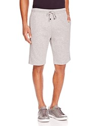 Hugo Boss Textured Trim Sweat Shorts Grey