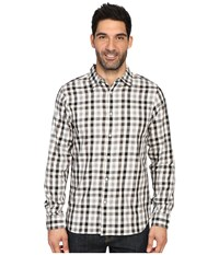 The North Face Long Sleeve Hayden Pass Shirt Mid Grey Plaid Men's Clothing Gray