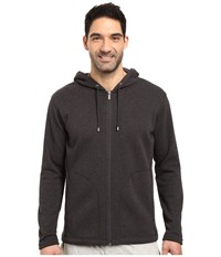 Ugg Bownes Hoodie Black Bear Heather Men's Clothing Gray