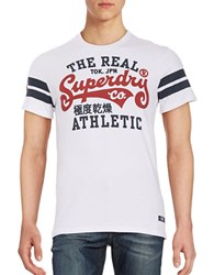 Superdry Short Sleeve Graphic Logo Tee Natural