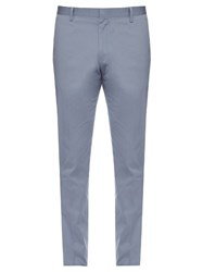 Paul Smith Cotton Blend Chino Trousers Blue