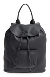 Elizabeth And James 'Langley' Pebbled Leather Backpack
