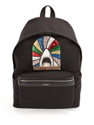 Saint Laurent 'Sweet Dreams City' Backpack Black