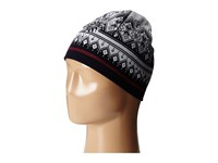 Dale Of Norway Rondane Hat Navy Raspberry White Mel Caps Black