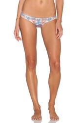 San Lorenzo Caged Thong Bikini Bottom Gray