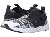 Reebok Furylite Jf Black White Men's Lace Up Casual Shoes
