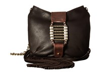 Leather Rock Hj69 Chocolate Handbags Brown