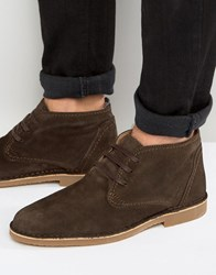 Selected Homme Royce Suede Warm Boots Brown