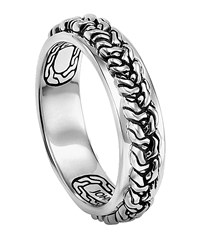 John Hardy Classic Chain Braided Band Ring Size 10