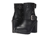 Harley Davidson Ludwell Black Women's Pull On Boots