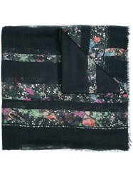 Zadig And Voltaire 'Kerry' Scarf Black