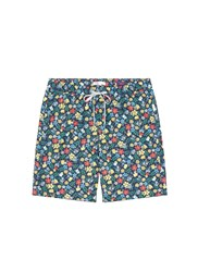 Onia 'Charles' 7' Eden Floral Liberty Print Swim Shorts Multi Colour