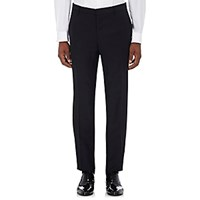 Burberry Xo Barneys New York Men's Mohair Wool Embellished Tuxedo Trousers Blue